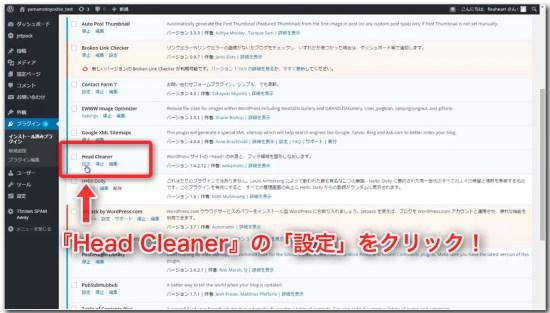 Head Cleanerの導入と設定_01