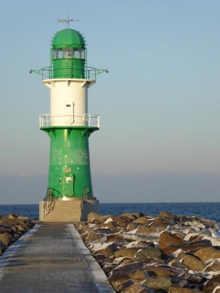 Leuchtturm auf der Mole