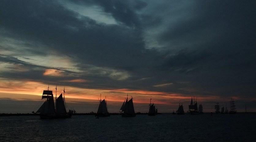 Segelschiffe gucken