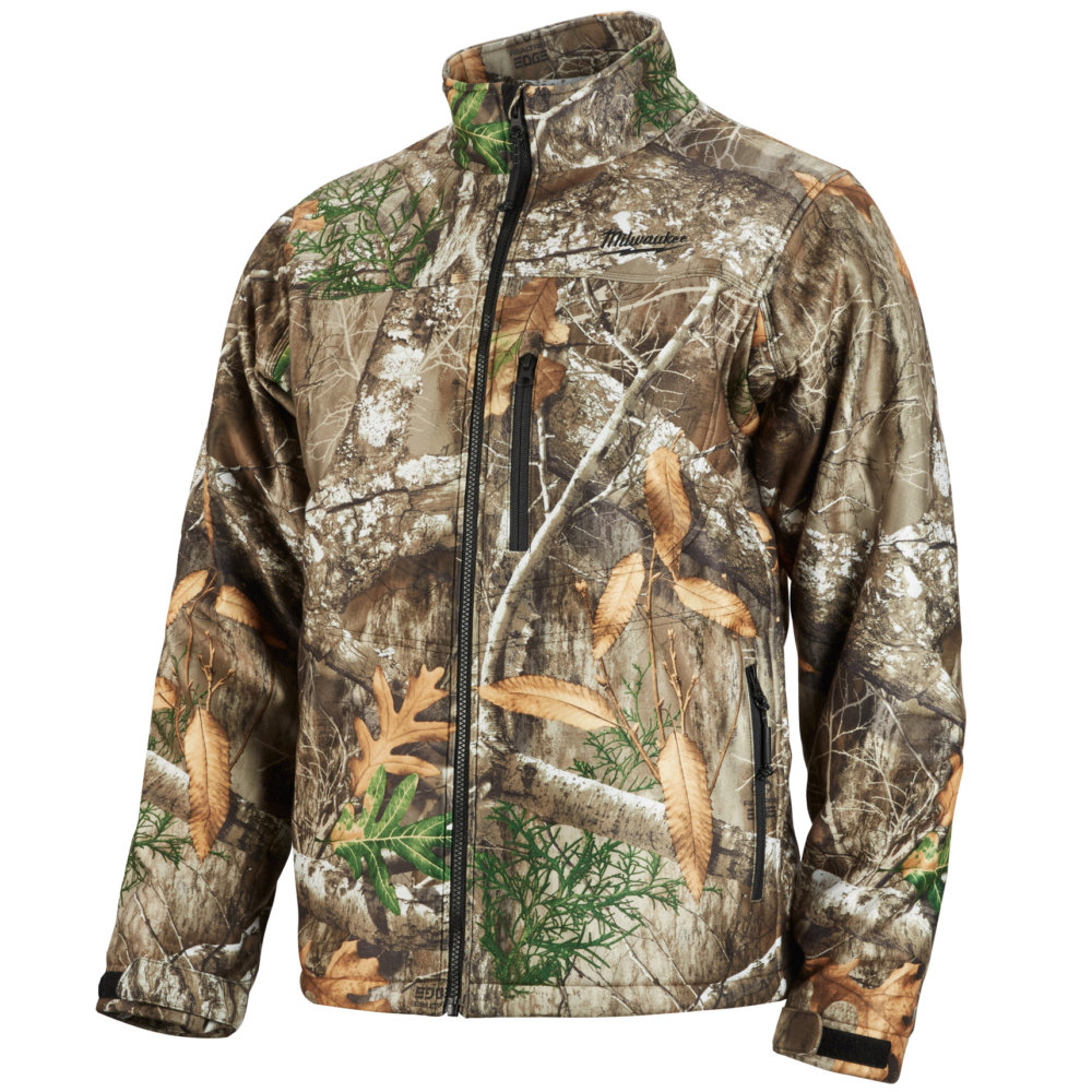 M12 Heated Jacket Milwaukee Men S M12 Realtree Edge Camouflage Full Zip Heated