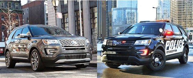 Police Interceptor Utility vs Ford Explorer - Police - Government Fleet
