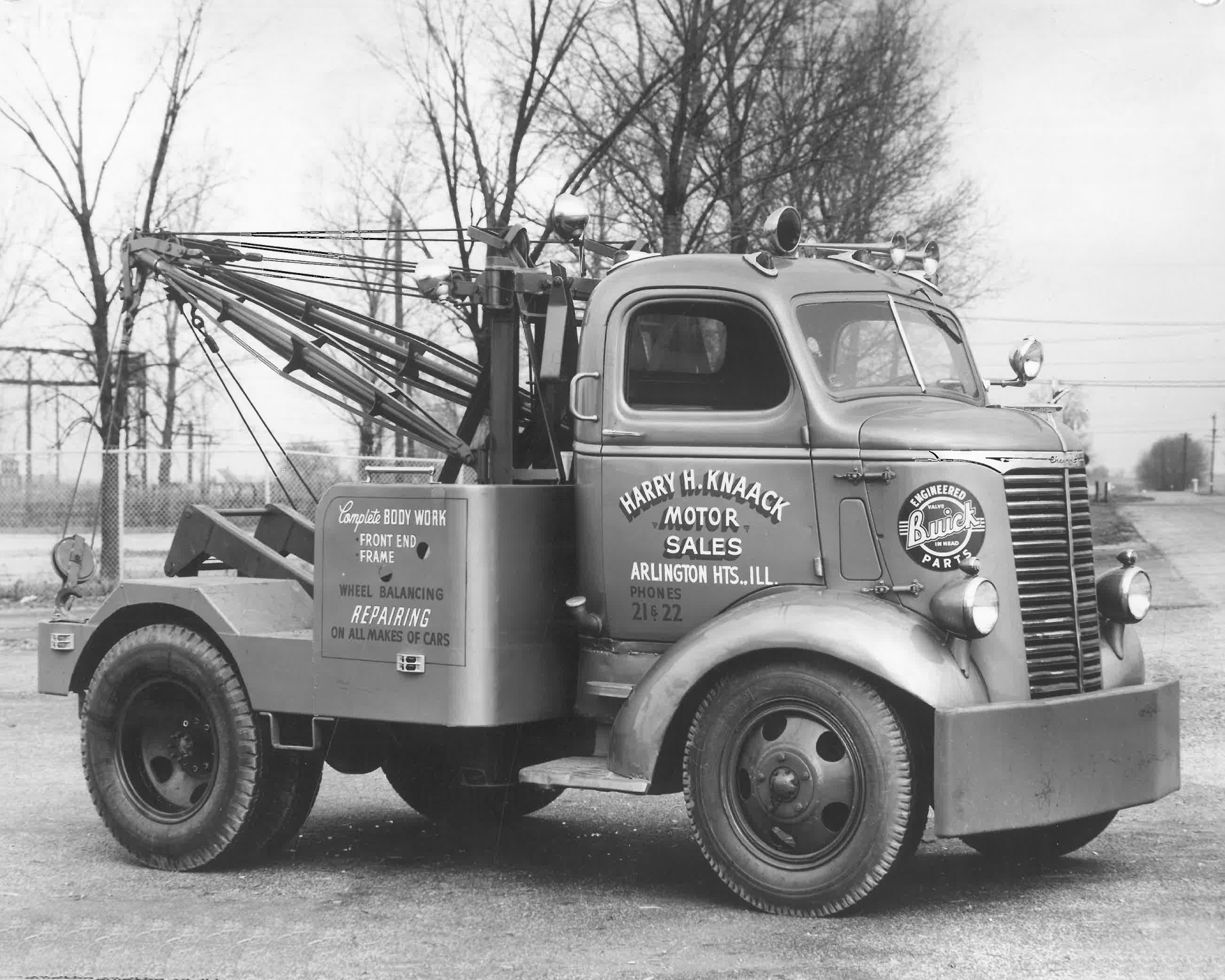 Tow Truck Time Capsule Circa 1940 Tow Truck Operations Work Truck Online