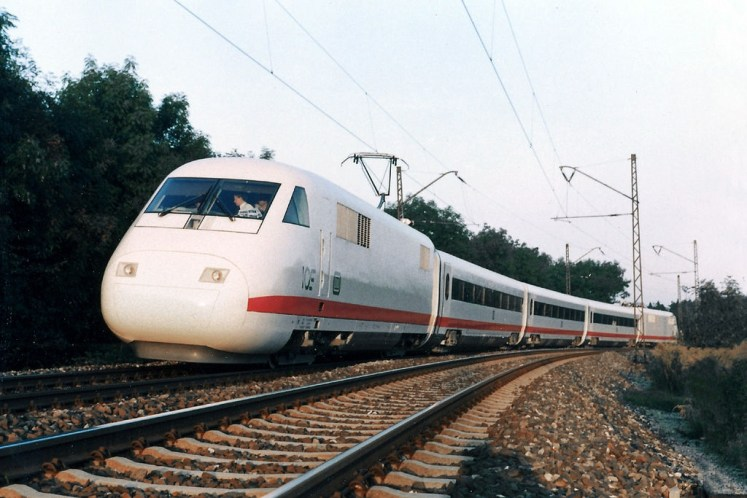 The Experimental as it travelled towards Munich in 1986. Source: