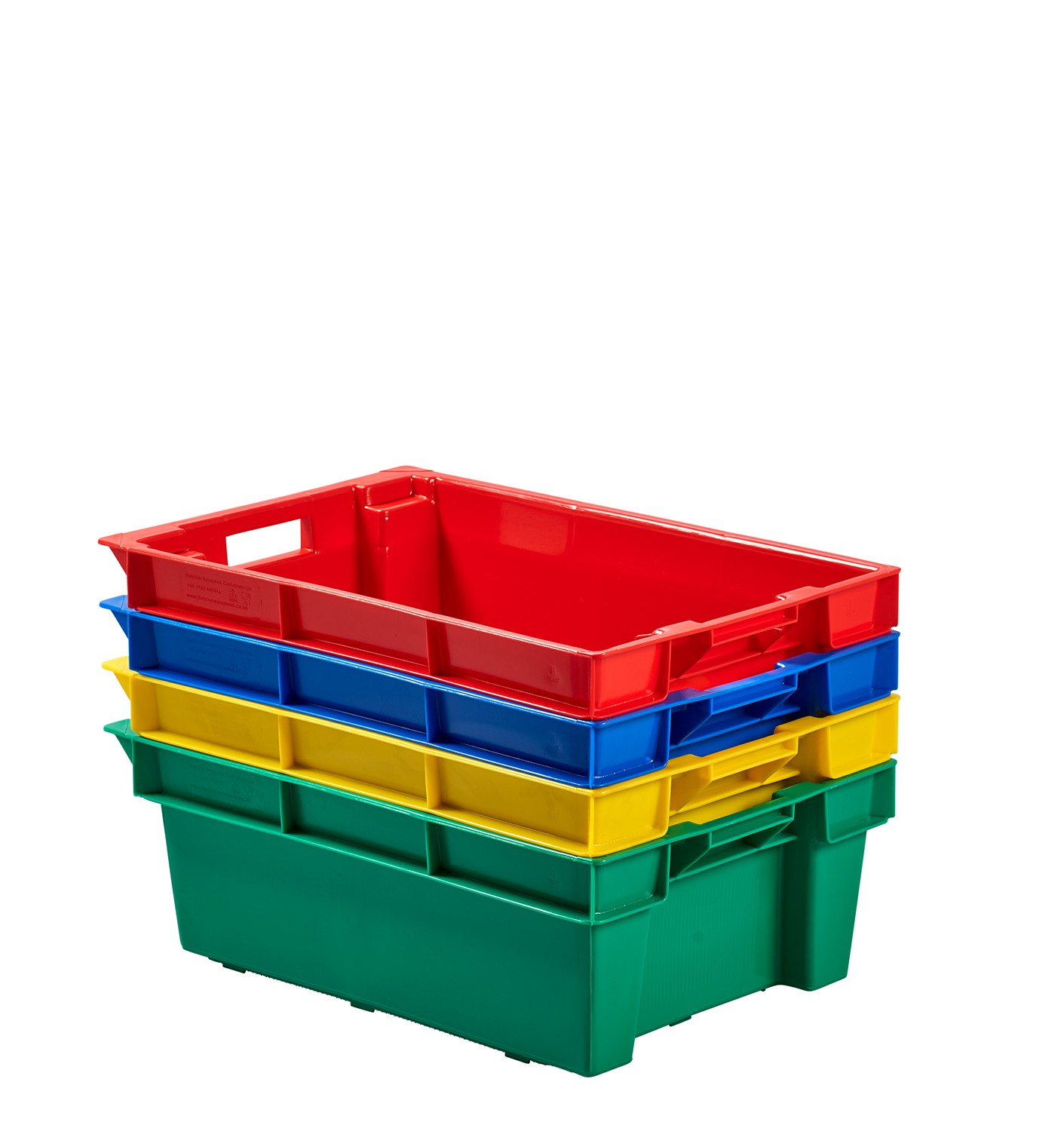 Plastikkisten Stapelbar Stack Nest Plastic Container - Plastic Stacking Boxes