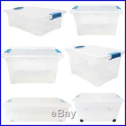 Plastic Storage Boxes Locking