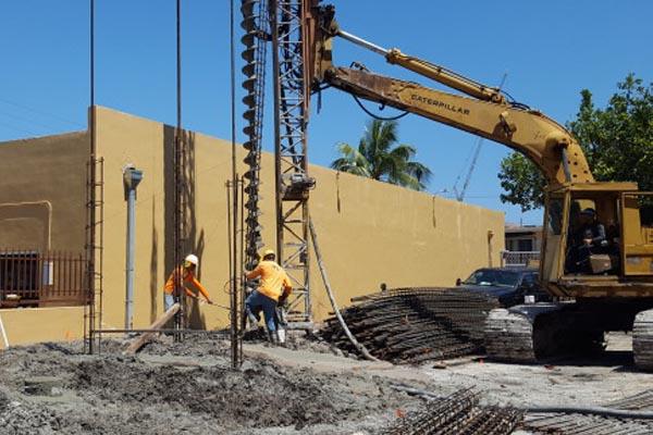 Installation of Auger Cast Piles \u2013 FL Foundation Auger Cast Piles