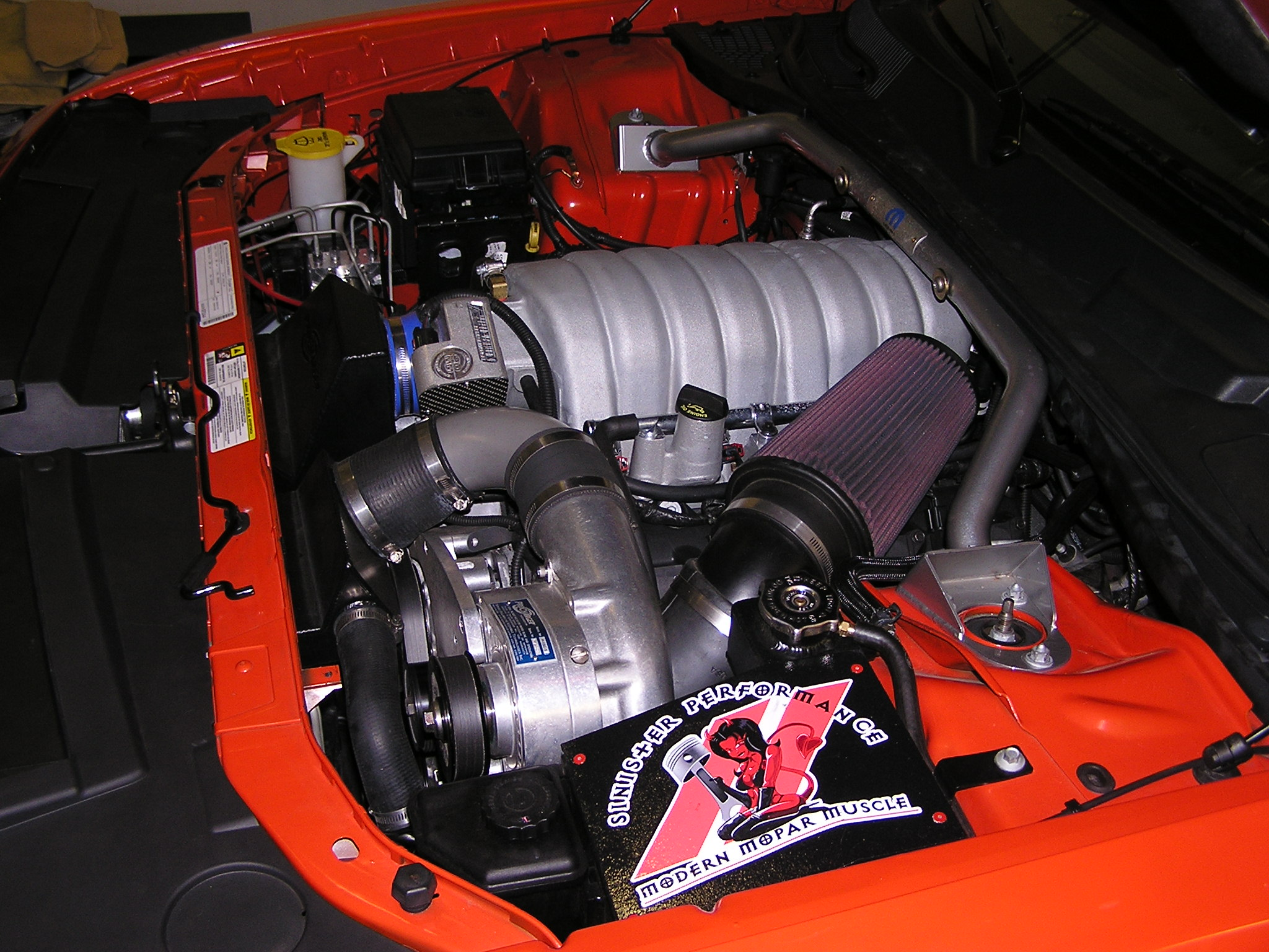 Fineline Imports 541 Whp 549 Wtq 2009 Dodge Challenger Stroked 6 4 Liter
