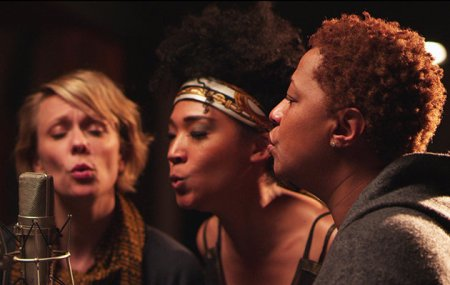 Jo Lawry, Judith Hill, and Lisa Fischer in 20 Feet From Stardom