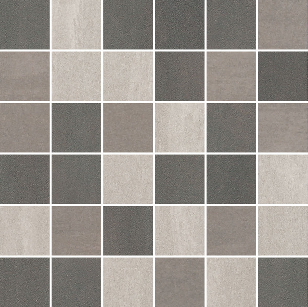 Feinsteinzeug Fliesen Grau 30x30 Villeroy Boch Unit Four Wall 5x5 Mosaik Grau Multicolour Matt