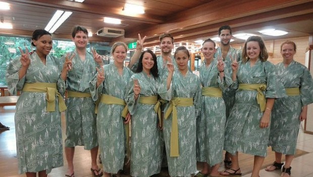 Japan Trip Blog Winter Onsen Robes In Japan