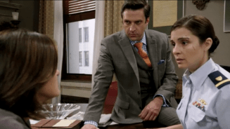 """Clip from Law & Order: SVU, Season 15, Episode 8, """"Military Justice."""""""