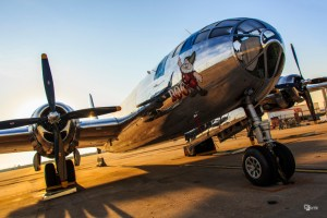 "The B-29 Superfortress known as ""Doc."" A non-profit group has set up a Kickstarter to restore the plane. (Photo Courtesy Doc's Friends)"