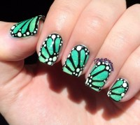 Adorable Bug Nail Art