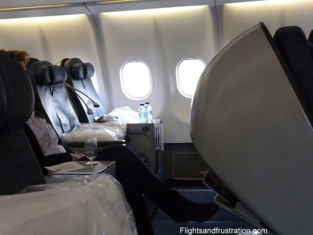 Delta Business Class seats