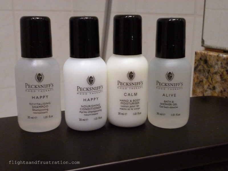 Complimentary toiletries in Renaissance Hotels