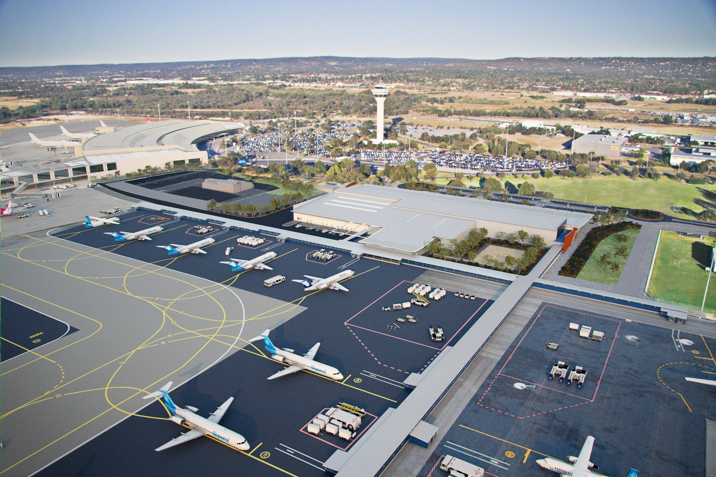 Brisbane Airport Parking Deals New Terminal Opens At Perth Airport Latest Flights And