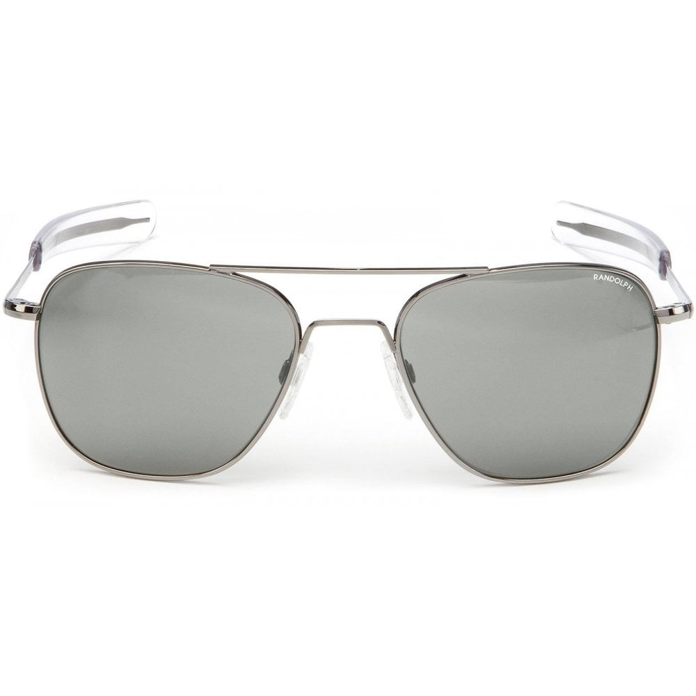 Mirror Frame Glasses Aviator Skytec Polarised Mirror Gun Metal