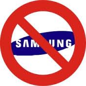 No Samsung