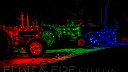 Illuminated Tractors