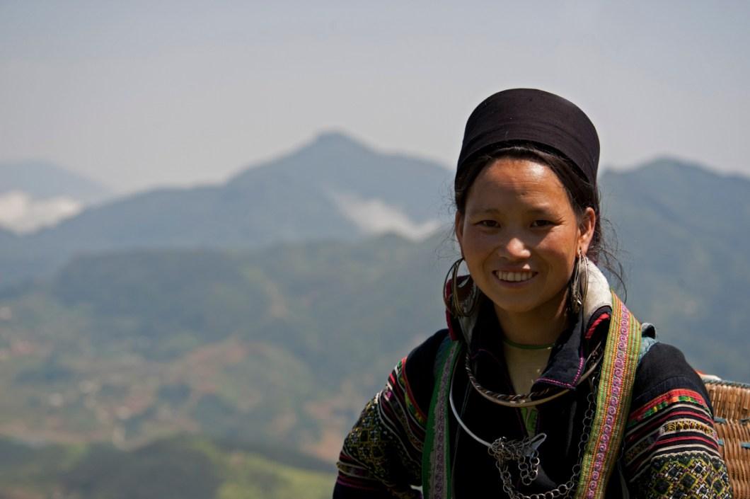 Sapa Hmong woman