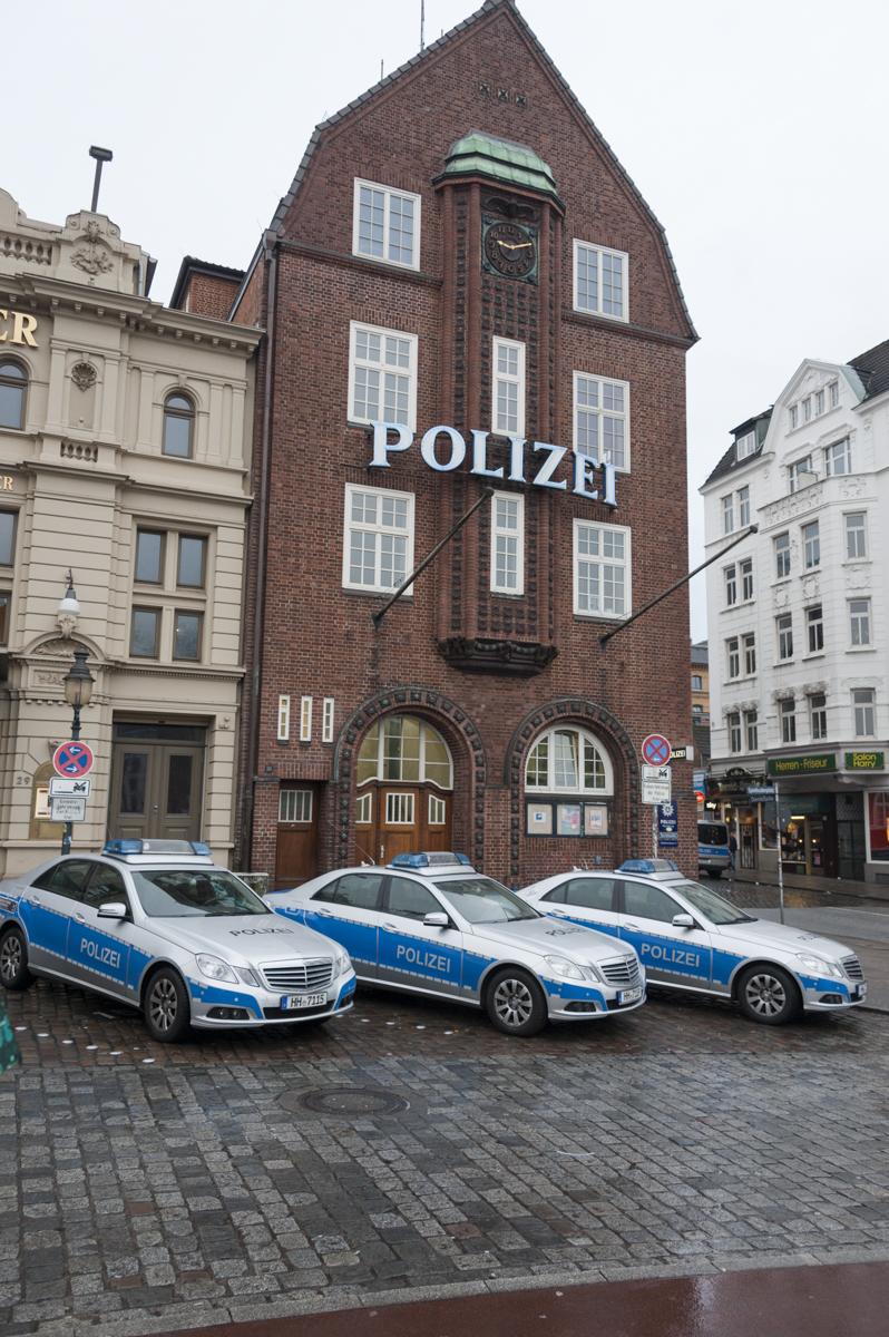 Hamburg St Pauli Tour Police Station