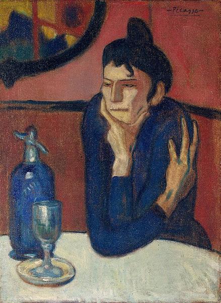 Pablo_Picasso,_1901-02,_Femme_au_café_(Absinthe_Drinker),_oil_on_canvas,_73_x_54_cm,_Hermitage_Museum,_Saint_Petersburg,_Russia
