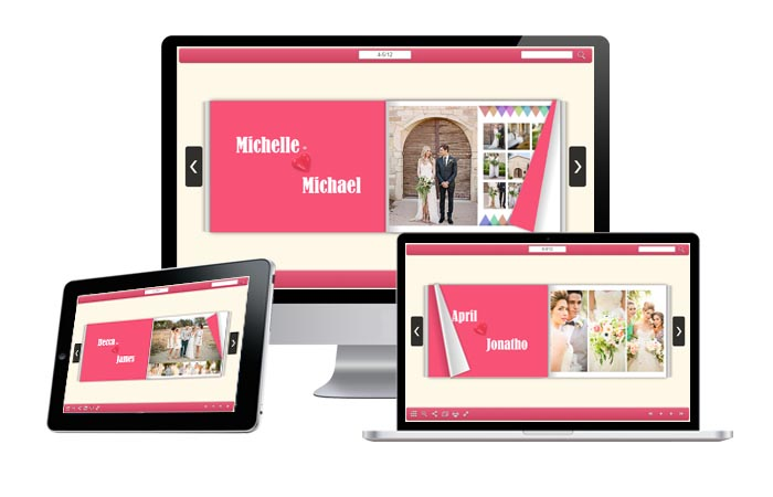 How to Create Multimedia Wedding Photo Albums Online