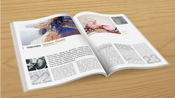 10 Best Art Magazine Templates \u2013 Photoshop PSD and InDesign _