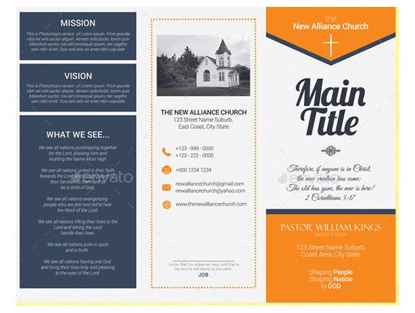 church brochure