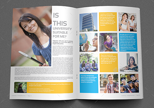 10 Best Education  Training Brochure Templates for Schools and