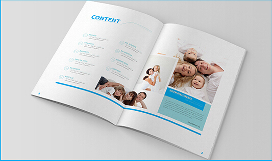 10 Professional PSD  InDesign Family Magazine Templates to Download _