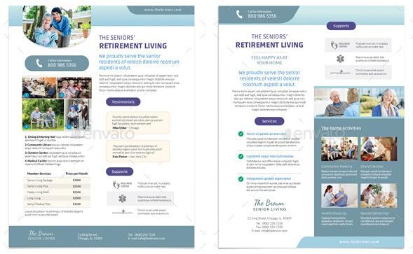 8 Beautiful Nursing Brochure Templates for Marketers _