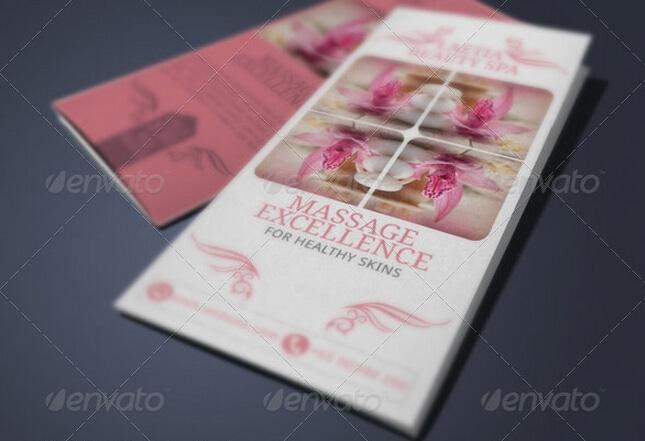 10 Elegant Spa Brochure Templates to Comfort Your Audiences _
