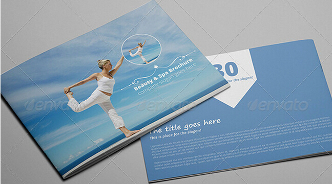 10 Elegant Spa Brochure Templates to Comfort Your Audiences _ - spa brochure