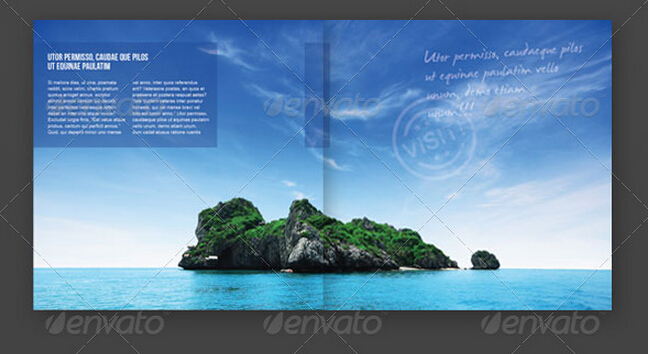 10 Appealing Travel  Tourism Brochure Templates to Boost Your - Vacation Brochure Template