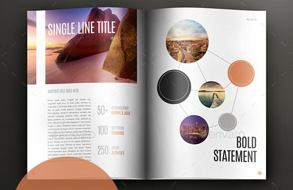 10 Excellent Booklet Design Templates for Flourishing Business \u2013 PSD