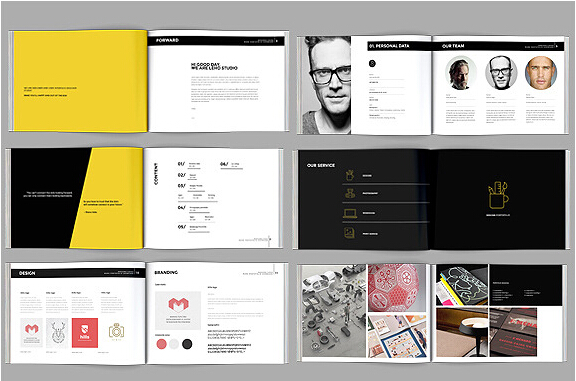 10 Excellent Booklet Design Templates for Flourishing Business \u2013 PSD