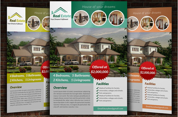 10 Professional Real Estate Agent Brochure Templates Free Download _