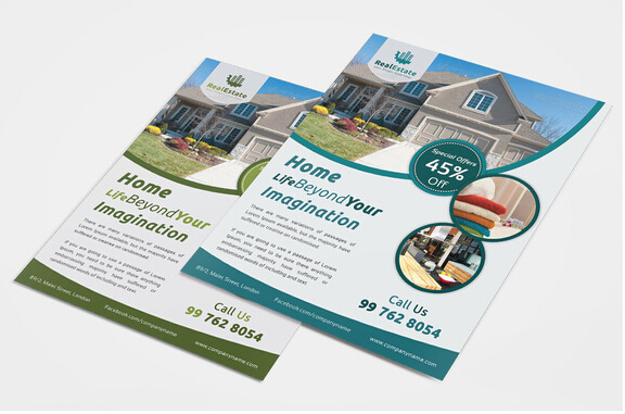 10 Professional Real Estate Agent Brochure Templates Free Download _ - property brochure
