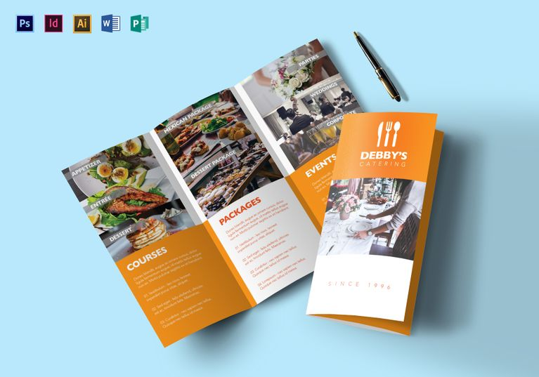 9 Helpful Product Brochure Templates for Non-Designers _ - Product Brochure Template
