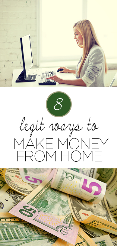 Make money from home, how to make money at home, side hustles, popular pin, make money online, grow your money