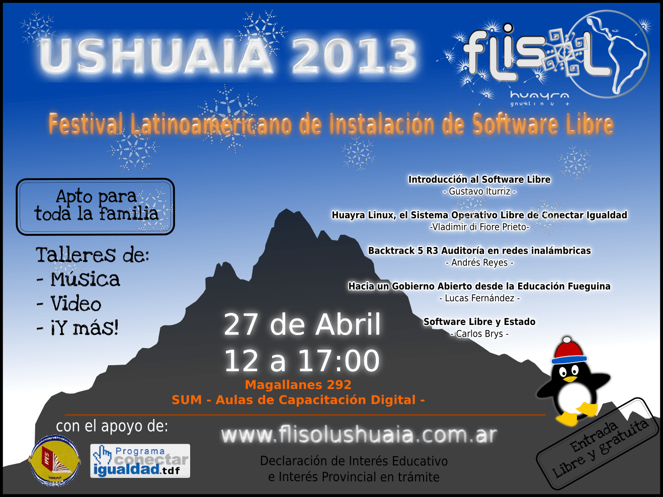Software Libre Edicion De Video Debates Flisol Ushuaia