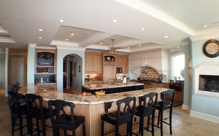 Big Kitchen Island Ideas Large Kitchen Island Ideas | Home Designs Project