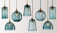 Rothschild & Bickers : Handblown Glass Lighting  Flodeau