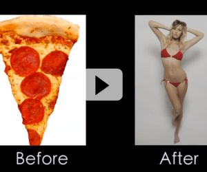 Photoshopped-Timelapse-Pizza-to-Model-1