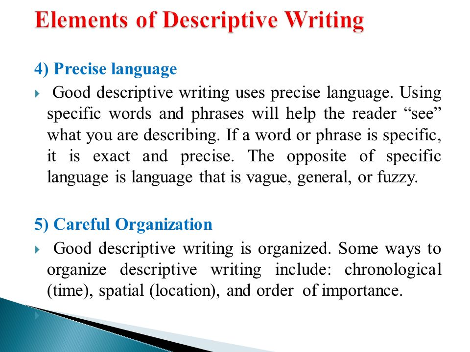 A descriptive essay is organized in what order essays on service