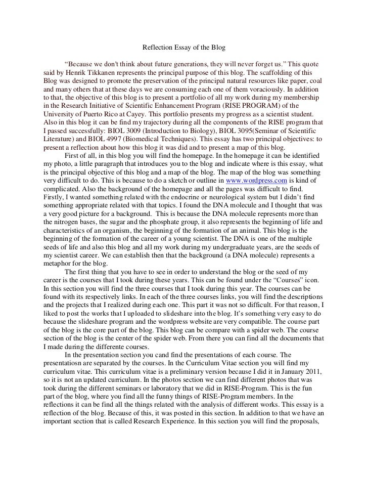 Higher personal reflective essay help hsc essay writing