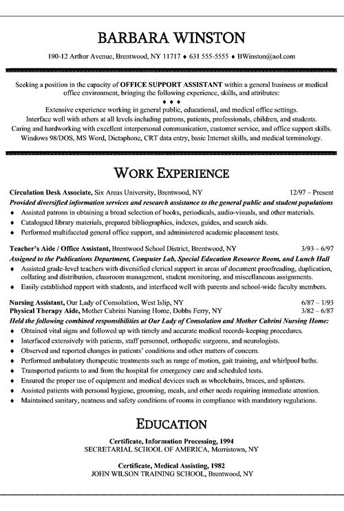Resume for medical administrative assistant do my assignment for me