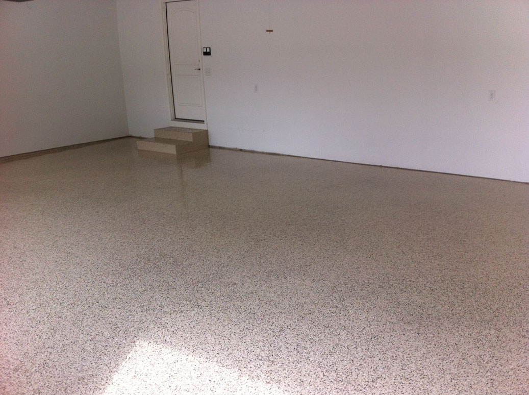 Garage Epoxy With Flakes Garage Floor Paint Photo Gallery