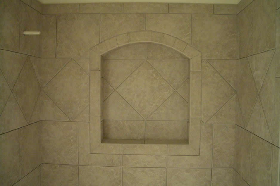 Porcelain Tile Vs Ceramic Tile How To Build A Niche For Your Shower – Part 4